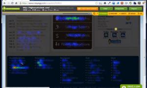 Heatmap tracking tutorial with crazyegg