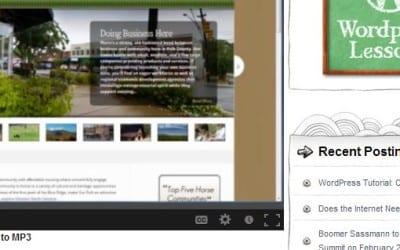 WordPress Tutorial: Content Update 101