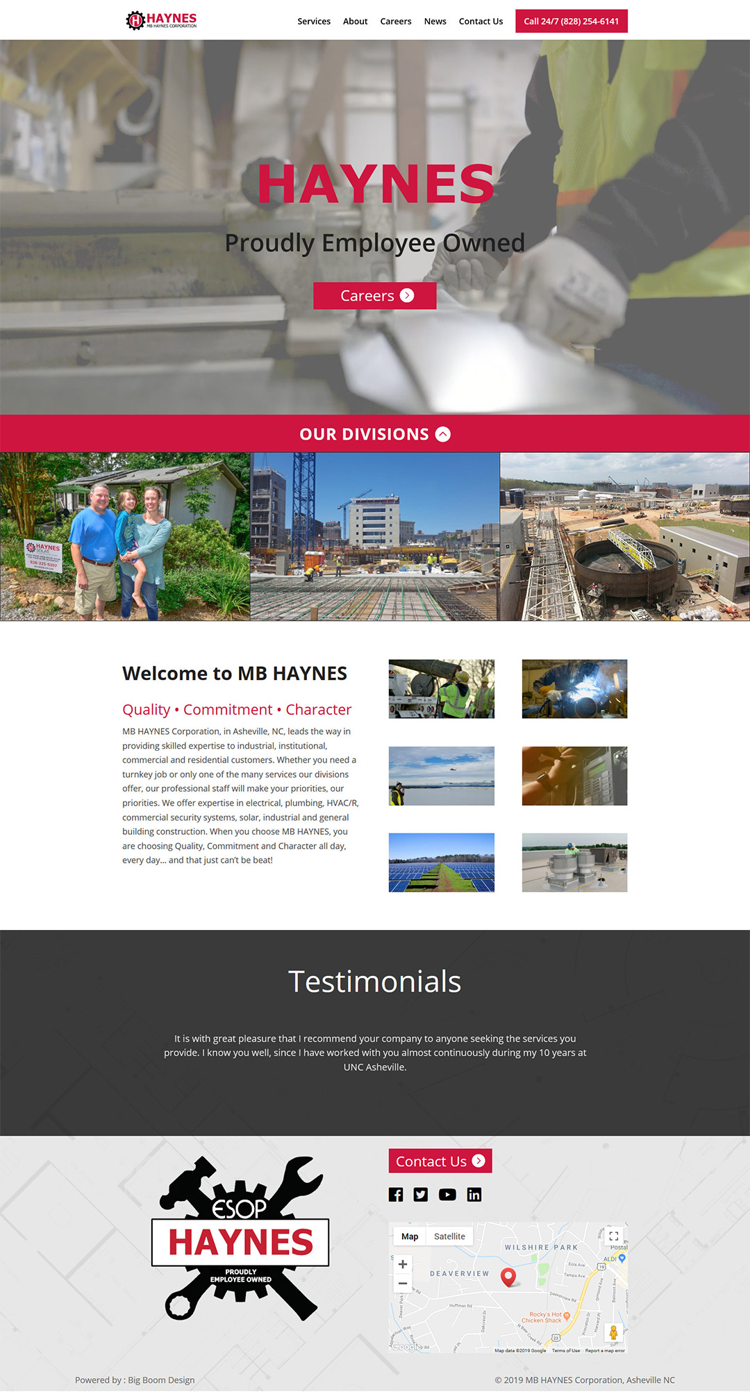 MB Haynes Home Page