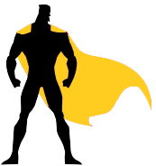super hero web design